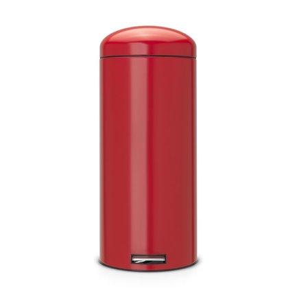 Brabantia Мусорный бак Retro (30 л), бесшумный, красный 483820 Brabantia brabantia мусорный бак flipbin 30 л розовый 106941 brabantia
