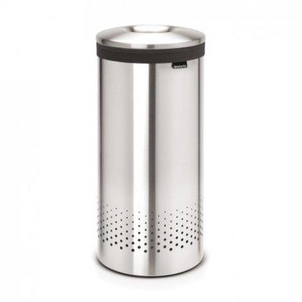 Brabantia Бак для белья с металической крышкой (35 л), стальной матовый 105128 Brabantia все цены