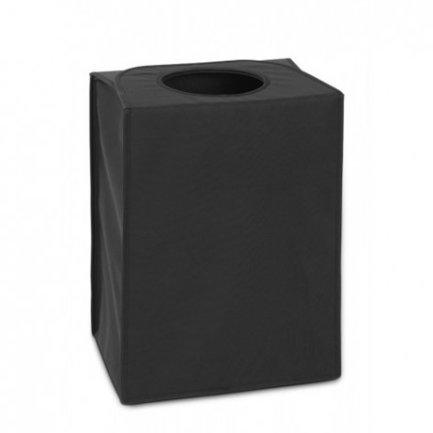 Brabantia Сумка для белья прямоугольная (55 л), черная 101762 Brabantia черная кожаная сумка для документов с теснением dr koffer b216170 02 04