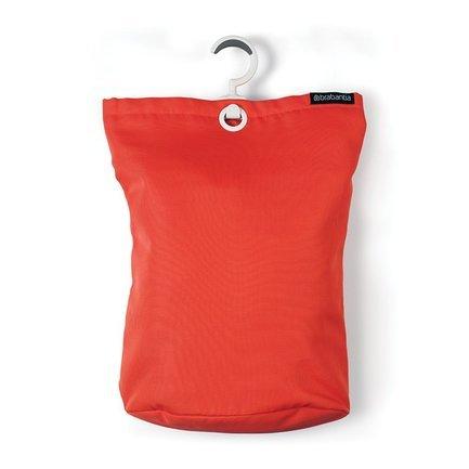 Brabantia Сумка для белья подвесная (35 л) красная 106088 Brabantia prada красная стеганая сумка diagramme