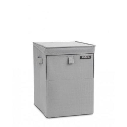 Brabantia Сумка для белья модульная (35 л), серая 109324 Brabantia сумка compact courier 80 серая