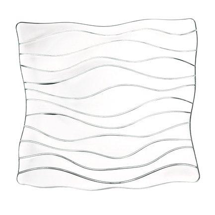 цена на Nachtmann Тарелка с декором Ocean, 30 см, хрусталь 83727 Nachtmann