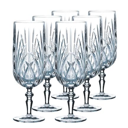 Nachtmann Набор фужеров для пива Palais (259 мл), хрусталь, 6 шт. 38371 Nachtmann nachtmann стакан для сока palais 265 мл 92954 nachtmann