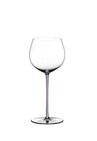 Фужер Oaked Chardonnay (620 мл), хрустальное стекло с розовой ножкой 4900/97P Riedel