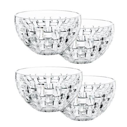 Набор салатников Bossa Nova, 4 пр., бессвинцовый хрусталь 101322 Nachtmann набор салатников 16 см royal czech porcelain