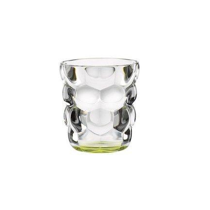 Nachtmann Набор стаканов Bubbles для воды с зеленым дном (330 мл), бессвинцовый хрусталь, 2 шт. 100697 Nachtmann