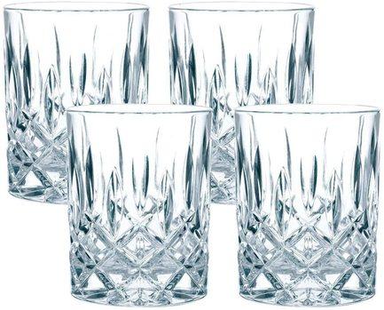 Набор для крепкого алкоголя Noblesse (55 мл), бессвинцовый хрусталь, 4 пр.