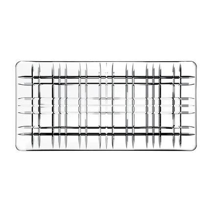 цена Nachtmann Блюдо Square прямоугольное, 28х14 см, бессвинцовый хрусталь 101047 Nachtmann онлайн в 2017 году