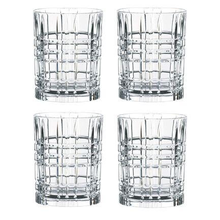 Nachtmann Набор стаканов Square (345 мл), бессвинцовый хрусталь, 4 шт. 101050 Nachtmann набор стаканов luminarc new america 270 мл 6 шт