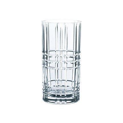 Nachtmann Набор стаканов Square высоких (445 мл), бессвинцовый хрусталь, 4 шт. 101049 Nachtmann [супермаркет] jingdong школа права roupa бессвинцовый хрусталь из красного вина с лимоном с пивом кружки чашки пива сока 260 мл
