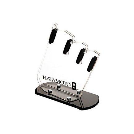 Hatamoto Подставка универсальная Hatamoto для 3-х ножей, 235x165x110 см FST-R-002 Hatamoto подставка для ножей 11x22 5 см hatamoto color pwbs 15d red