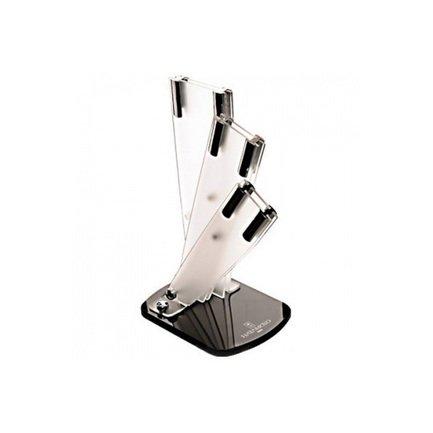 купить Hatamoto Подставка универсальная Hatamoto для 3-х ножей, 235x165x110 см, матовая FST-R-003 Hatamoto дешево