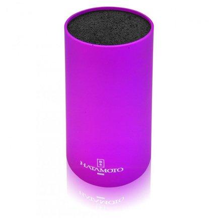 Hatamoto Подставка универсальная для ножей Hatamoto, фиолетовая PWBS-15D-PUR Hatamoto jd коллекция светло телесный 12 пар носков 15d две кости размер