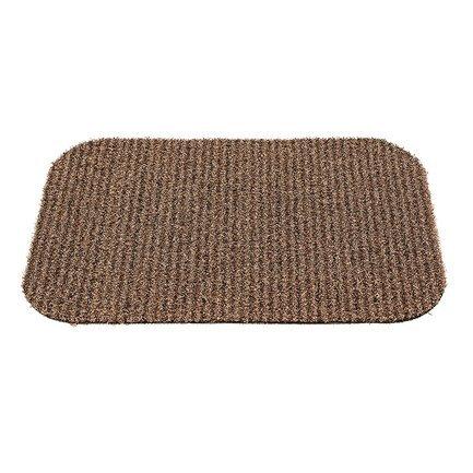 Gardman Коврик придверный Linen Stripe, 65х45 см 82448 Gardman коврик придверный vortex листья 76 46 см