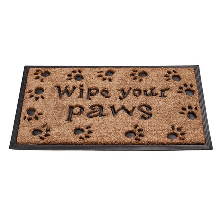 Gardman Коврик придверный Wipe Your Paws, 45х75 см 82324 Gardman cute cat paws style bottle opener color assorted