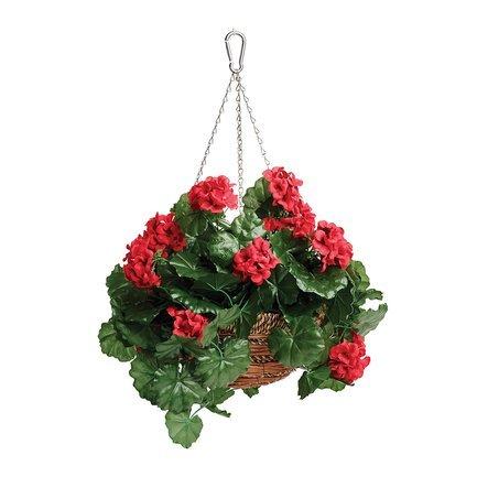 Корзина с цветами подвесная Geranium, 30 см 02845 Gardman 02845