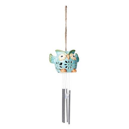 Gardman Светильник уличный Ceramic Owl, голубой L25205b Gardman