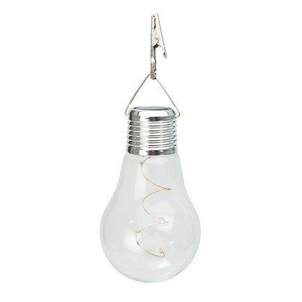Gardman Фонарь уличный Solar Hanging Lightbulb, 7.8х13.2 см L23001 Gardman цена