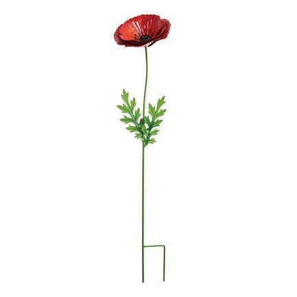 Gardman Штекер садовый Scarlet Poppy, 75 см, красный 09875 Gardman gardman фонарь уличный на крючке coach light 86 см l21016 gardman