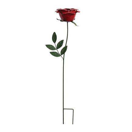 Gardman Штекер садовый Wild Rose, 75 см, красный 09876 Gardman вилы gardman moulton mill budding gardener 95006 g