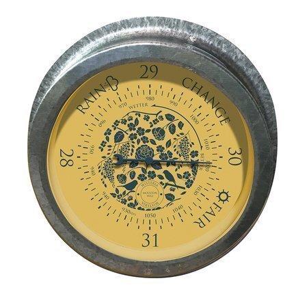 Gardman Барометр уличный, 22.4 см, металлик 94995 Gardman eglo 94995