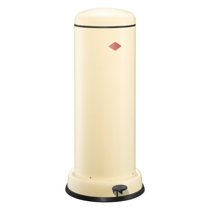 Ведро для мусора с педалью (30 л), бежевое 134731-23 Wesco ведро для мусора plastic centre с педалью цвет мраморный темно серый 6 л