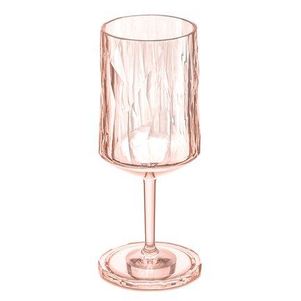 Бокал для вина Superglas Club No. 4 (350 мл), розовый 3401654 Koziol