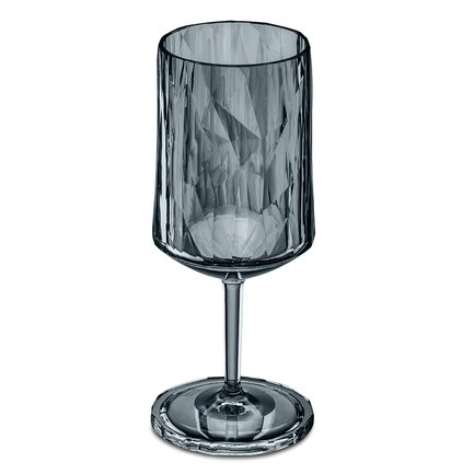 Бокал для вина Superglas Club No. 4 (350 мл), серый 3401540 Koziol