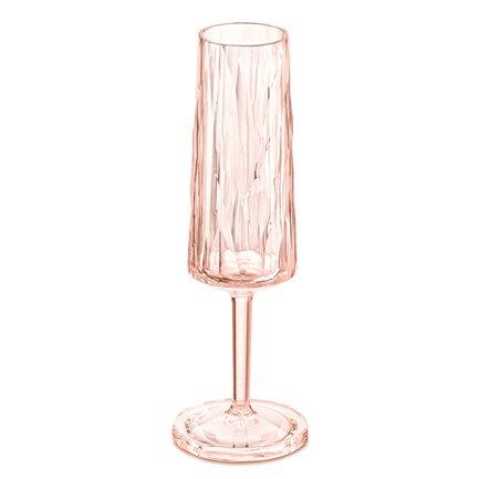 Бокал для шампанского Superglas Club No. 5 (100 мл), розовый 3400654 Koziol