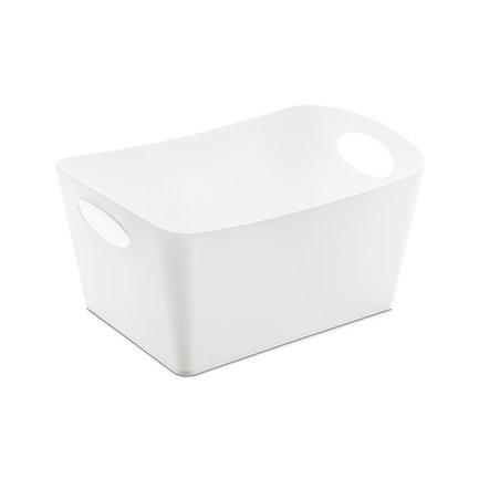 Контейнер для хранения Boxxx M, 30х20х15 см, белый 5744525 Koziol контейнер для хранения koziol bottichelli 4 5 л темно серый