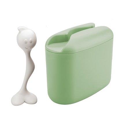 Контейнер для хранения продуктов Hot Stuff M, (0.35 л), 16х8х16.5 см, мятный 3057445 Koziol phibo контейнер для хранения продуктов на защелке 2 л