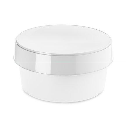 цена Контейнер для хранения с крышкой Top Secret, 32 см, белый 3080525 Koziol онлайн в 2017 году