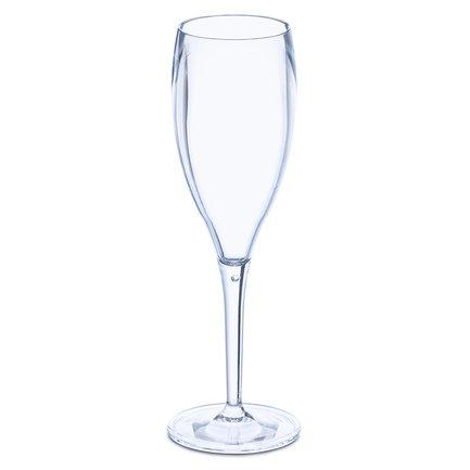 Набор бокалов для шампанского Superglas Cheers No. 1 (100 мл), 4 шт, синий 3588652 Koziol