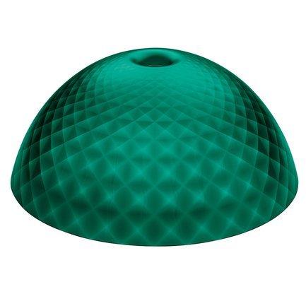 Плафон Stella Silk XL, 29.5 см, зеленый 1947650 Koziol