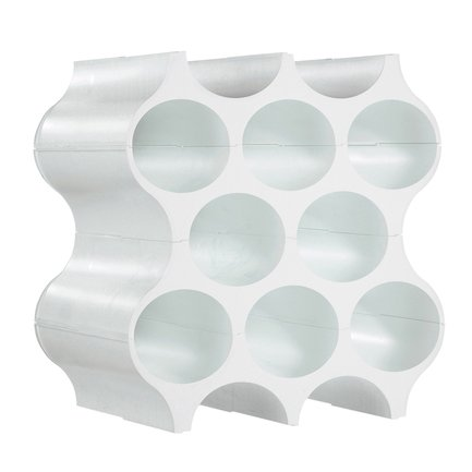 Подставка для бутылок Set-Up, 37х35х23 см, белая
