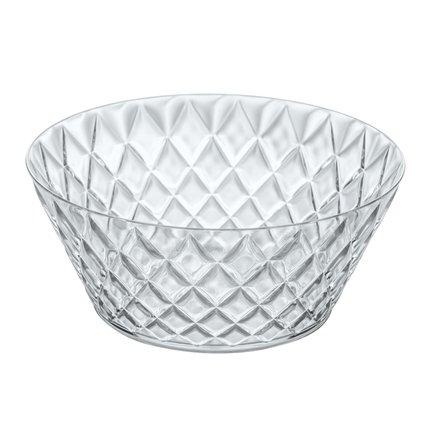 Салатник Crystal L (3.5 л), 27 см, прозрачный 3546535 Koziol