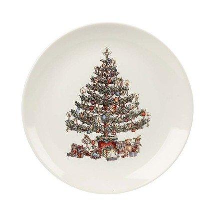"""Тарелка обеденная """"Рождественская елка"""", 26 см"""