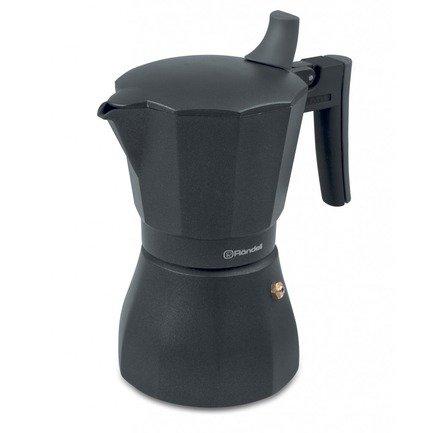 Гейзерная кофеварка Kafferro на 6 чашек RDS-499 Rondell гейзерная кофеварка gat 103906 ne fashion 6 чашек