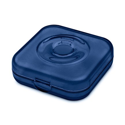 Шкатулка Private Box, 6х6х2 см, синяя