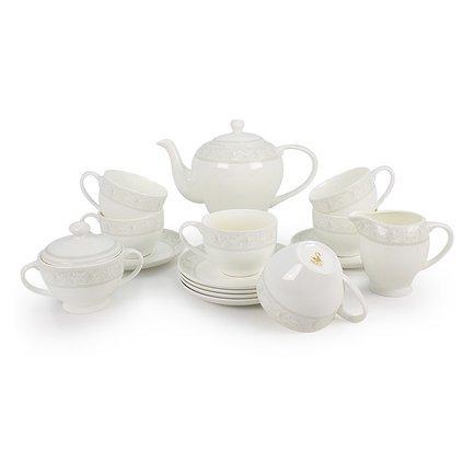 Чайный сервиз Дионис на 6 персон, 15 пр. 71543/2 А Akky akky сервиз столовый дионис аквамарин на 6 персон 20 пр 72057 а akky
