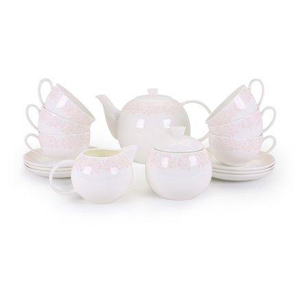 Чайный сервиз Мария на 6 персон,15 пр. 71567 А Akky