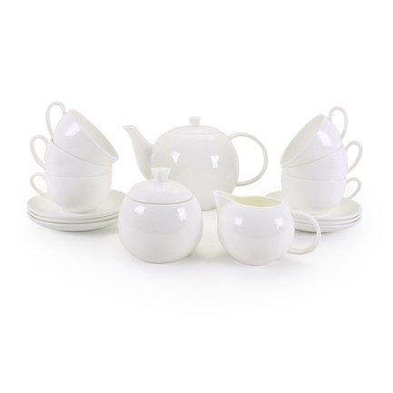 Чайный сервиз Милена на 6 персон, 15 пр. 71566 А Akky