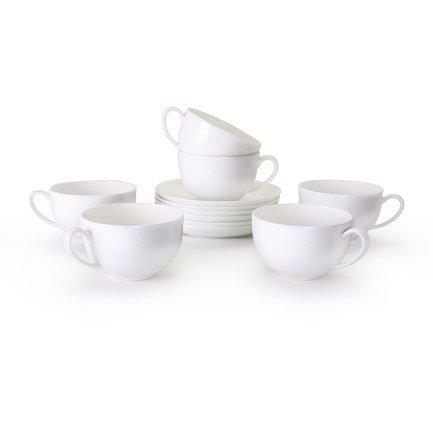 Набор чайных пар Мирас на 6 персон,12 пр. 71264 А Akky akky набор чайных пар розалия на 6 персон 12 пр 71253а akky
