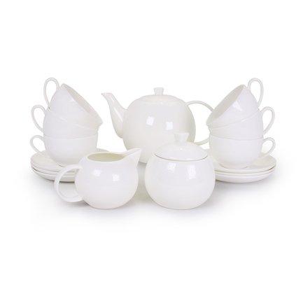Чайный сервиз Мирас на 6 персон,15 пр. 71564 А Akky