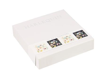 Набор подставок под чайные пакетики Квинтэссенция, 10.5х10.5 см, в подарочной коробке, 4 шт HARL00591 Churchill