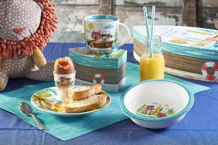 Набор столовой посуды в коробке Лодка, 3 пр ROWB00021 Churchill