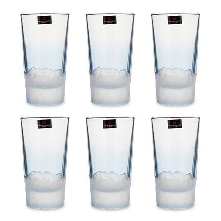 Набор стаканов высоких Intuition (330 мл), 6 шт, голубой