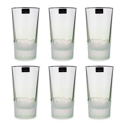 Набор стаканов высоких Intuition (330 мл), 6 шт, зеленый L8641 Cristal D Arques