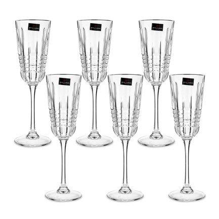 Набор бокалов для шампанского Rendez-Vous (170 мл), 6 шт L8234 Cristal D Arques