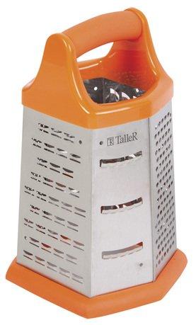 Терка, 20.5х10.5х10.5 см, оранжевая TR-1913 Taller